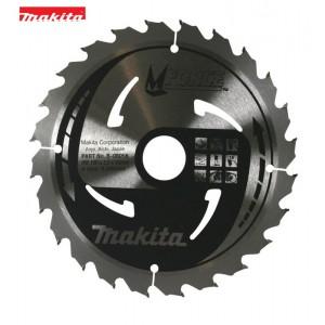 B-08056 Δίσκος κοπής ξύλου Makita Mforce 190mm 30mm 24 δόντια