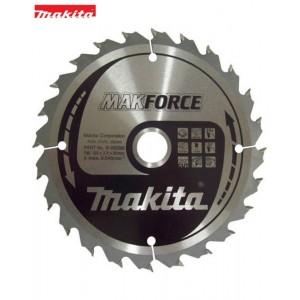 B-08296 Δίσκος κοπής ξύλου Makita MakForce 160mm 20mm 24 δόντια
