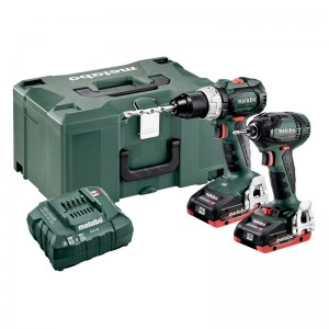 685124000 METABO 18 VOLT COMBO SET ΜΠΑΤΑΡΙΑΣ 2.1.12 18 V BL LIHD SB 18 LT BL & SSD 18 LTX 200 BL