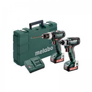 685167000 METABO 12 VOLT COMBO SET ΜΠΑΤΑΡΙΑΣ 2.7.2 12V POWERMAXX SB 12 & POWERMAXX SSD 12
