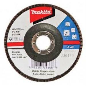 D-27090, Makita ελασματικός τροχός μετάλλου 125mm